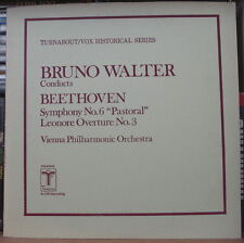 BRUNO WALTER/BEETOVEN SYMPHONIE No.6 TURNABOUT/VOX HISTORICAL THS-65042