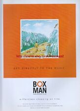 Boxman E-ffortless Shopping Online 1999 Magazine Advert #577