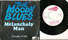 THE MOODY BLUES 45 TOURS BELGIQUE MELANCHOLY MAN