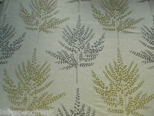 Harlequin Curtain Fabric FOLIUM 1.05m Pistachio Ferns on Sparkling Cloth Design