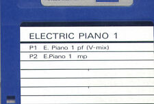 Floppy SOUND DISK formatted for ROLAND W-30. ELECTRIC PIANO 1