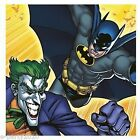 BATMAN AND JOKER LUNCH NAPKINS (16) ~ Superhero Birthday Party Supplies Dinner