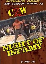 Combat Zone Wrestling: Night of Infamy Double DVD CZW