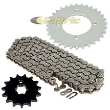 Drive Chain & Sprockets Kit Fits YAMAHA BW80 Big Wheel 80 1986 1987 1988 1990