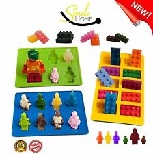 Silly Chocolate Molds Ice Cube Trays Lego Candy Jello Birthday Party Children