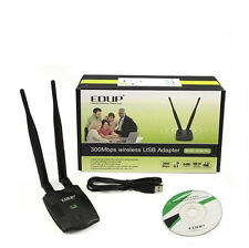 EDUP EP-MS1532 300Mbps WiFi Wireless USB Network Card Adapter with 2 Antenna