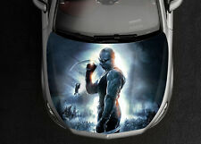 Riddick Car Hood Wrap Full Color Vinyl Sticker Decal Fit Any Car