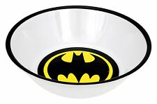 Batman 4pc. Warner Bros DC Comics Bat Logo Signal Soup Cereal Melamine Kid Bowls