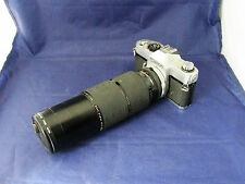 Cannon 35 mm Camera - Model TLb - with Long Lens