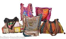 5 Boho Bags Wholesale Lot Indian Gypsy Sequins Handmade India 339