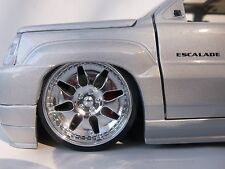 JADA DUB CITY 1/24 SCALE GENUINE WHEELS FOR REPAIRING FITS CADILLAC EXT