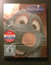 Disney RATATOUILLE Blu-Ray SteelBook Germany Exclusive. New OOP & Rare!