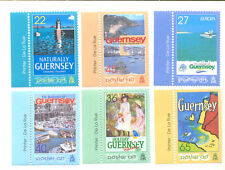 Guernsey-Holiday poster Art 2003 mnh -set