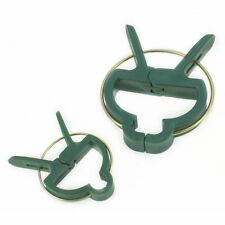 40x Re-Useable Garden Plant Support Spring Clips Plastic Tree Shrub Tie UK SALE