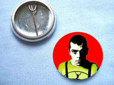 Ian Dury 25mm Badge Blockheads Gene Vincent The Clash Kilburn and the High Roads