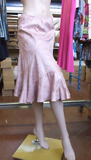 Joseph Ribkoff BNWT UK 10 Beautiful Soft Pink Faux Suede Skirt Comfy & Stunning