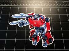 Transformers G1 Sideswipe box art vinyl decal sticker Autobot toy 1980's