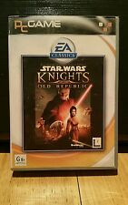 Star Wars: Knights Of The Old Republic PC game Complete 4 disc in Good Condition