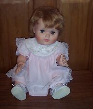 1950's American Character Doll Baby Toodles Rooted Hair Flirty Sleepy Eyes NoCRY