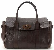 MULBERRY Brown Leather Small Bayswater Tote Handbag