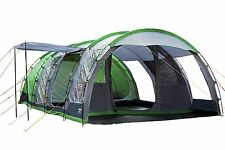 Regatta Tunnel Tent - 6 Man Vanern Family Tent - Green