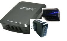 Tgomtech 4 Port Premium High Output USB Wall/travel/ac Rapid Charger (6.8 Amps)