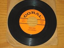 """ROCK & ROLL 45 RPM - STEVE LAWRENCE - CORAL 61792 - """"PARTY DOLL"""""""