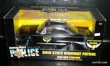 ERTL American Muscle '60 Ford Starliner Ohio State Highway Patrol 1:18 Police
