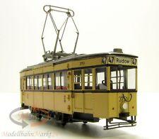 FRÖWIS 2215 M BVG Straßenbahn 3751 Triebwagen T 33 U Messing Antrieb H0 1:87 OVP
