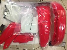 KIT PLASTICHE HONDA CR 125 250 2000 2001 00 01 KIT 5 PZ COLORE ORIGINALE