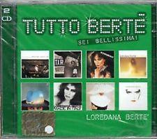 2)cd  LOREDANA  BERTE'  Tutto Bertè  SEI  BELLISSIMA  NUOVO  Siae  SIGILLATO