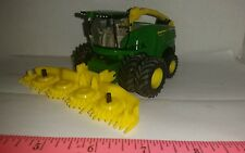 1/64 ertl custom farm toy John deere 8600  chopper with duals & forage head