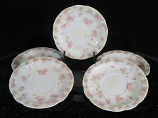 """Set of 5 Demi Sized Saucers - Rosenthal - Circa 1898-1906 - Decorated """"Carmen"""""""