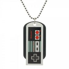 Licensed Nintendo NES CONTROLLER DOG TAG Necklace Jewelry Mens Womens OLD SCHOOL