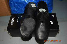 Black Freed Pro Jazz split sole jazz dance shoes - size UK 9