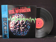 Steve Smith - Vital Information on CBS/Sony Records 25AP 2687 Japanese w. OBI