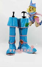 Yu-Gi-Oh! Dark Magician Girl Blue Cosplay costume Boots Boot Shoes Shoe