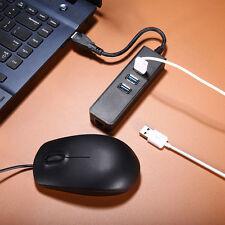 3-Port USB 3.0 Hub RJ45 Gigabit Ethernet Hub Converter LAN Wired Network Adapter