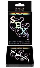Sex! Gay Cards Game | 100.000 Sexual Activities | Gay Foreplay, Scenarios