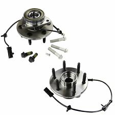 4WD/4X4 6 Lug | Front Wheel Hub and Bearing Assembly w/ ABS | Both/Pair/Set of 2
