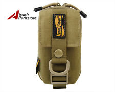 LooYoo Tactical Molle Smart Phone Pouch Case Waist Bag for i9300 S4 iPhone6 Tan