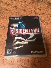Resident Evil 2: (2 Disc) Empty Replacement Case PS1 PS2 PS3
