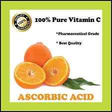 L-ASCORBIC ACID 100g PURE VITAMIN C BEST AVAILABLE PREMIUM QUALITY
