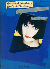 """LINDA RONSTADT """"HOWL LIKE THE WIND"""" PIANO/VOCAL/GUITAR MUSIC BOOK BRAND NEW RARE"""