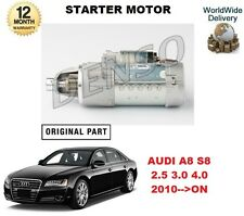 FOR AUDI A8 S8 2.5 30 4.0 TFSI QUATTRO 2010-->ON DENSO STARTER MOTOR