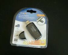Zeikos USB 2.0 SD/SDHC/MMC Flash Memory Card Reader ZE-SDR5. Free Delivery