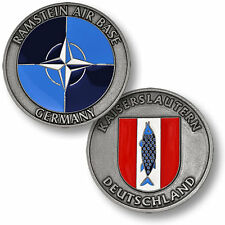 U.S. Air Force / Ramstein Air Base Germany - USAF Nickel Challenge Coin