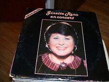 GINETTE RENO EN CONCERT-2 LP-VG+-MELON-MIEL-STEREO-GATEFOLD-QUEBEC,CANADA