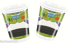 8 Toy Story Power Plastic Drinking Cups Party Tableware Birthday Kids Boy Disney