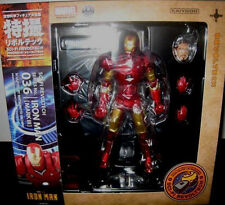 Kaiyodo Revoltech 036 Marvel Iron Man Mark 3 MK III Figure IN STOCK Genuine